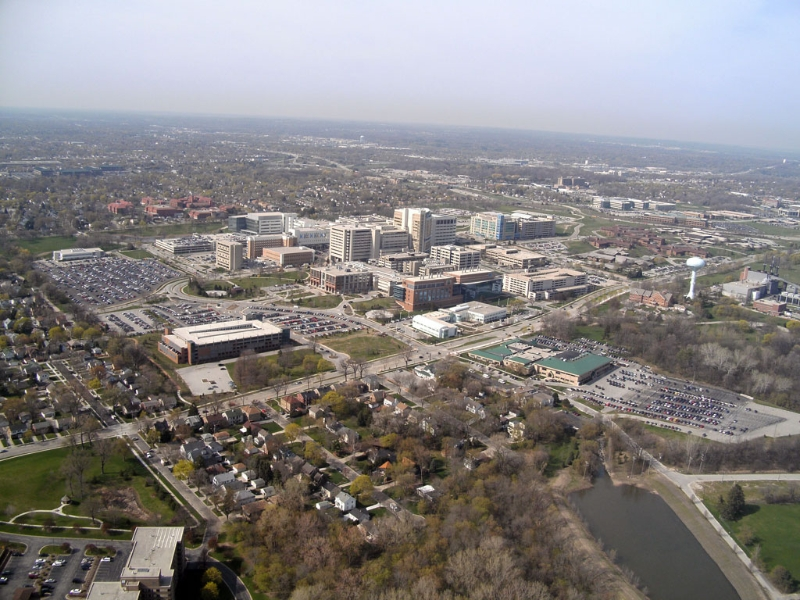 Aerial Photo of Milwaukee Regional Medical Center