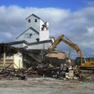Demolition begins on Sturgeon Bay's West Waterfront