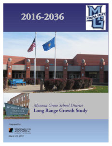 Low-res COVER from Monona Grove School District Long Range Growth Study - 2017