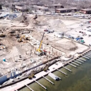 Video flyover of the redevelopment progress at Monona Riverfront