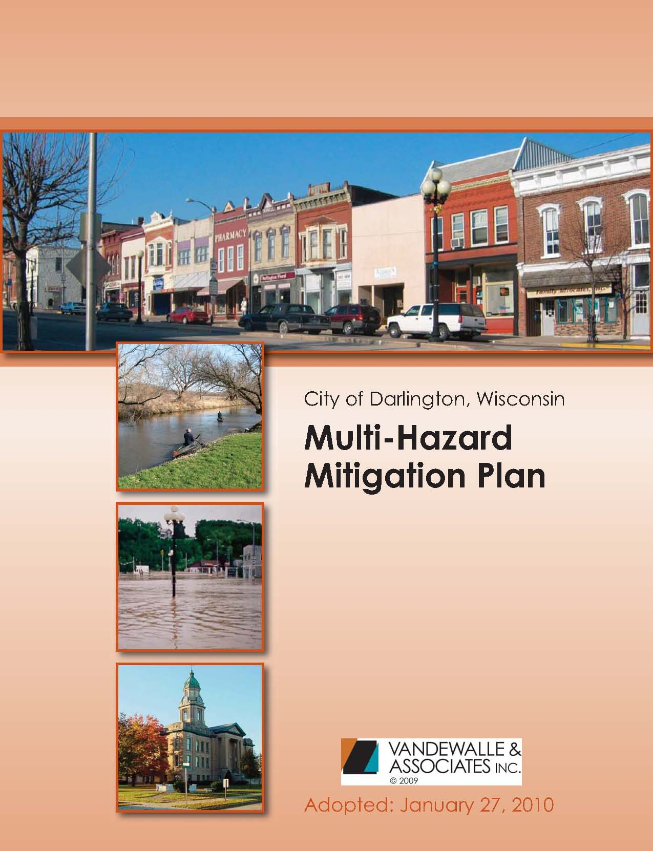 darlington flood hazard mitigation plan vandewalle associates inc