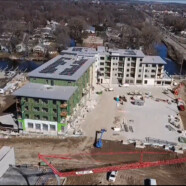 Watch the latest drone video of the Monona Riverfront project
