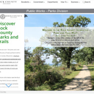 V&A develops Rock County interactive park plan map